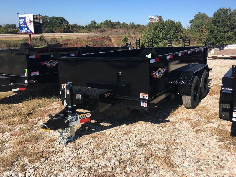 2021 H&H Trailers 76x12 10k Bumper Pull Dump Trailer