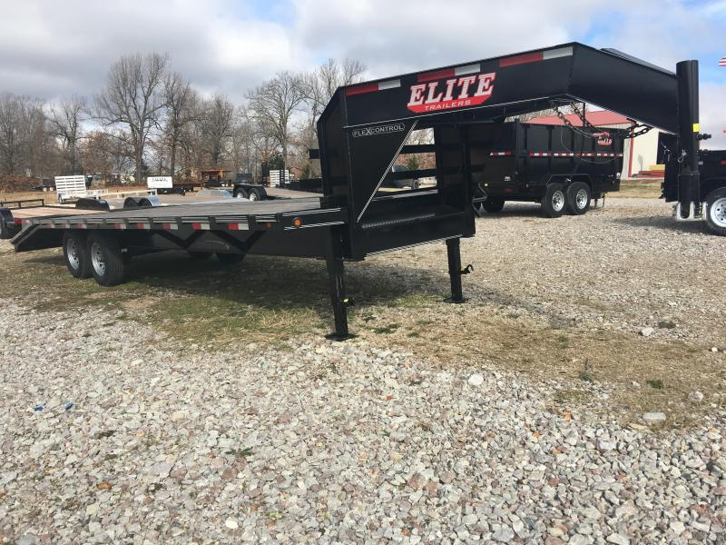 Elite 8.5 x 25 22K Deck Over Trailer w/ 5' Ramps