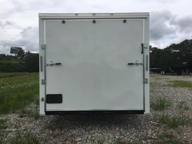 Ozark 8.5 X 24 Enclosed Car Hauler 10K