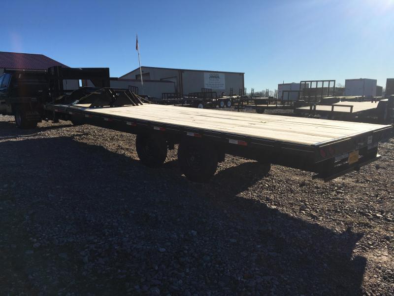 2021 Ozark 25' 14k Float Flatbed Trailer