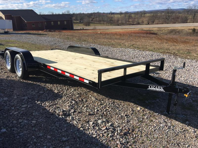 Ozark 82 x 16 7K Preferred Car Hauler