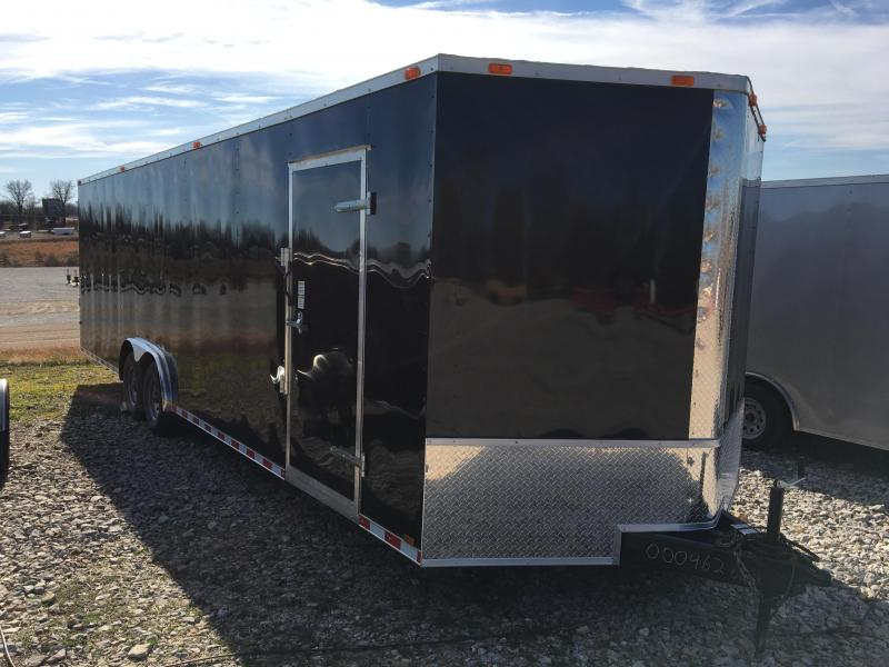 2021 Cynergy Cargo 8.5x28 Basic w/ D-Rings Enclosed Cargo Trailer