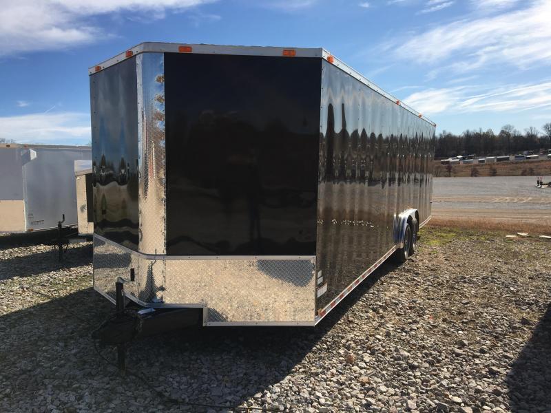 2021 Cynergy Cargo 8.5x28 Basic w/ D-Rings Enclosed Cargo Trailer
