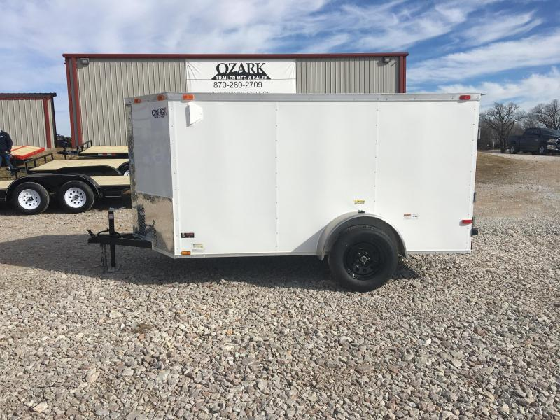 2021 Cynergy Cargo 5x10 Basic w/ Barn Doors Enclosed Cargo Trailer
