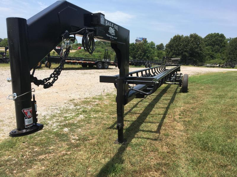 2021 Ozark 36' Bale Ox Hay Hauler Equipment Trailer
