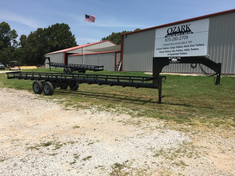 2021 Ozark 36' Bale Ox Hay Hauler Equipment Trailer