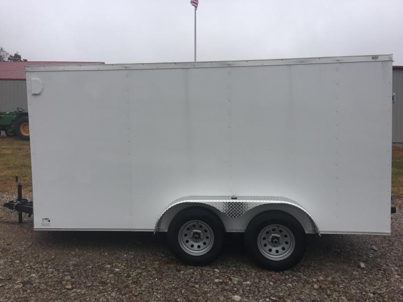 Eagle Trailer 7 X 14 Tandem Axle Enclosed Cargo Trailer 7K