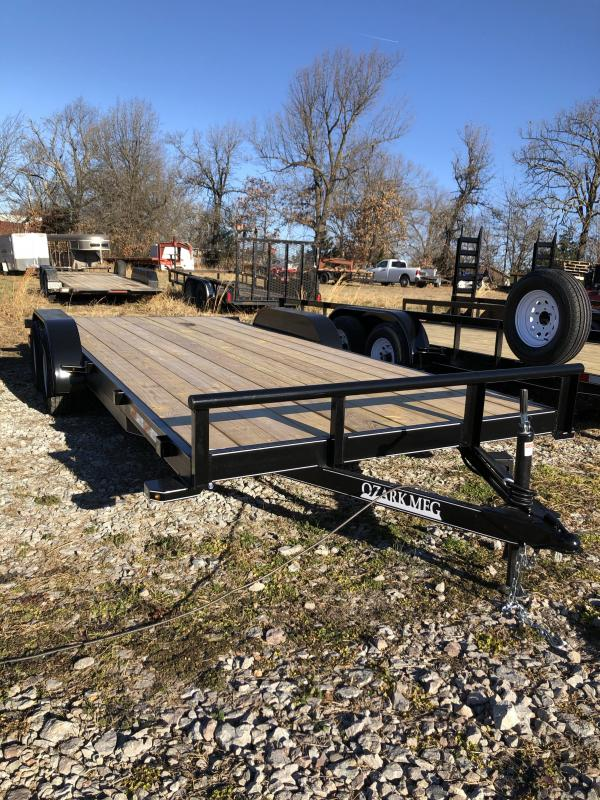 2021 Ozark 82x20TA2 Equipment Trailer