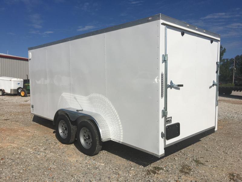 Eagle Trailer 7 X 16 Tandem Axle Enclosed Cargo Trailer 7K
