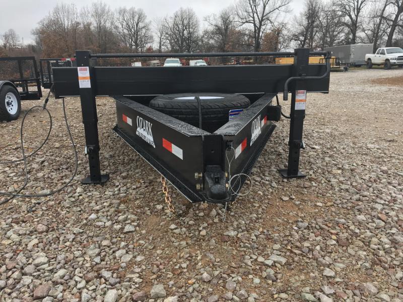 2021 Ozark 102x20 Bumper Pull 14k Float Flatbed Trailer