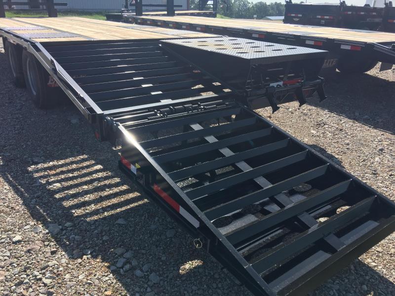 Elite 8.5 x 25 22K Deck Over Trailer w/ Mega Ramps