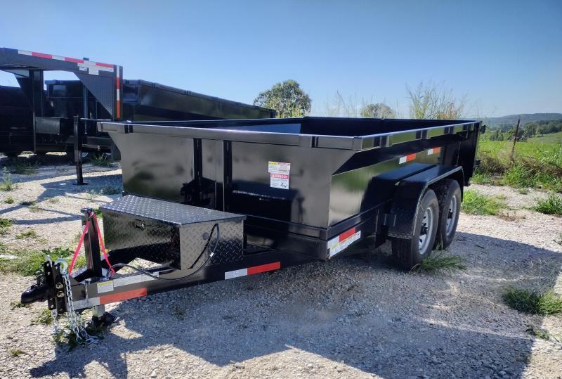 2021 U.S. Built 7x12x2 Dump Trailer
