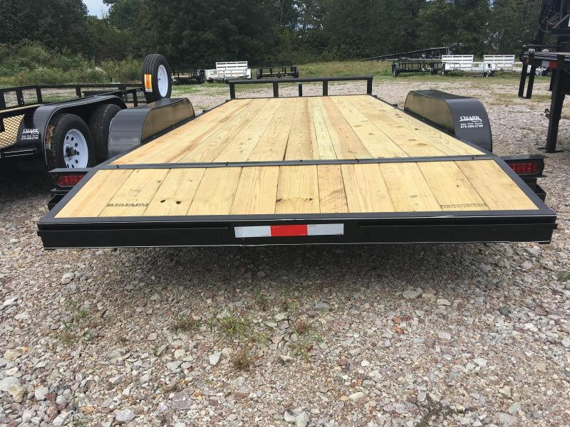 Ozark 82 x 18 7K Preferred Car Hauler