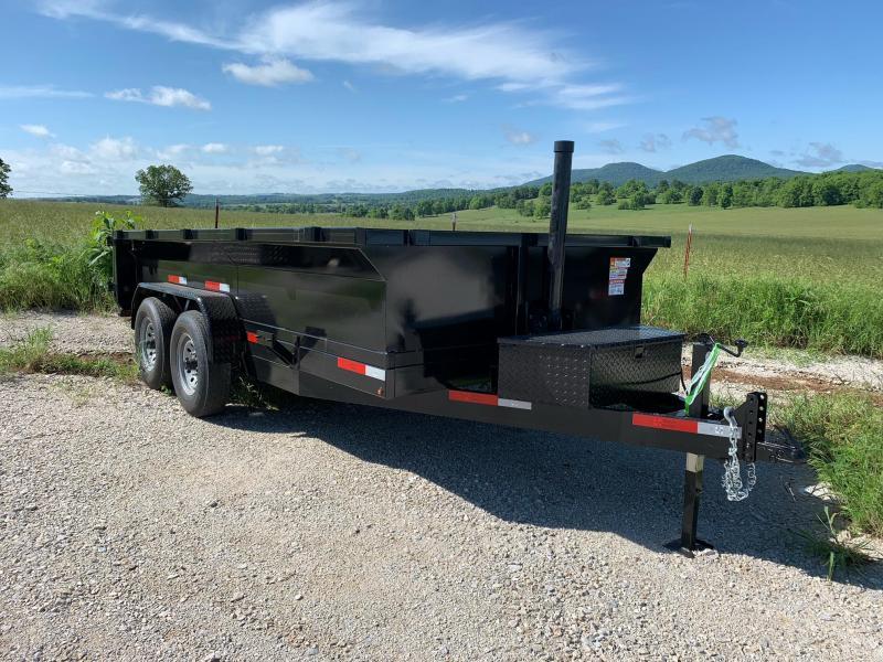 2021 U.S. Built 7x14 14k w/ 3' Sides & Ramps/Storage Dump Trailer
