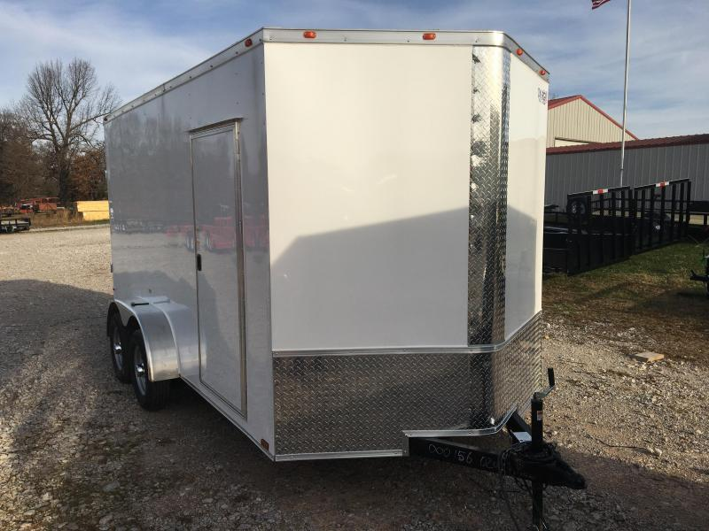 2021 Cynergy Cargo 7x14 Tandem Axle w/ Ramp Door Enclosed Cargo Trailer