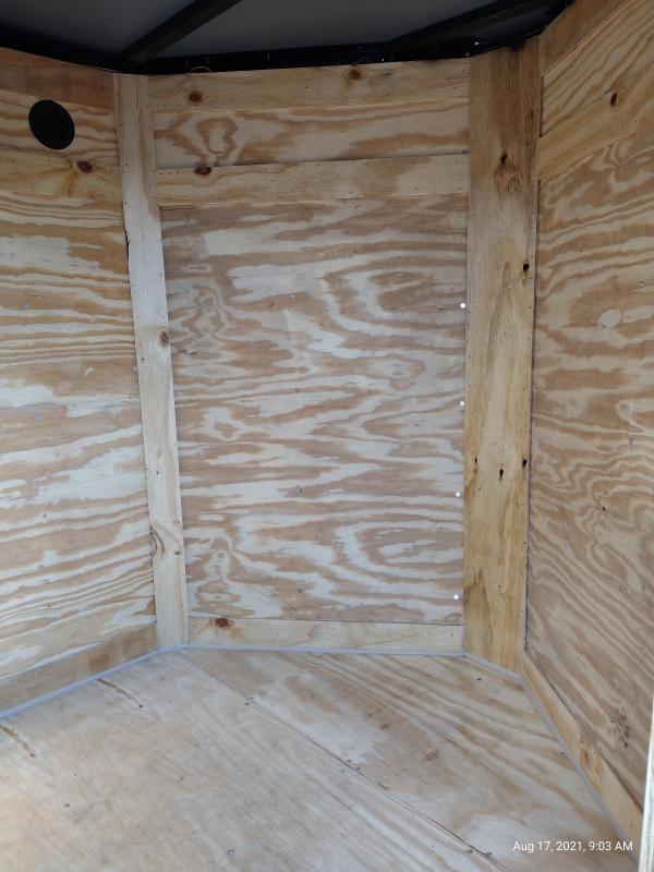 2021 Cynergy Cargo 5x8 Basic w/ Barn Door Enclosed Cargo Trailer