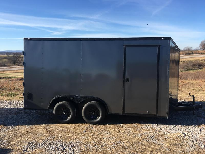 Ozark 8.5 X 16 Enclosed Car Hauler 7K