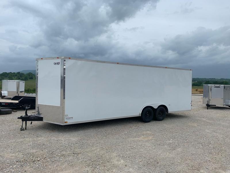 2021 Cynergy Cargo 8.5x24 10k w/ 7' Interior Height Enclosed Cargo Trailer