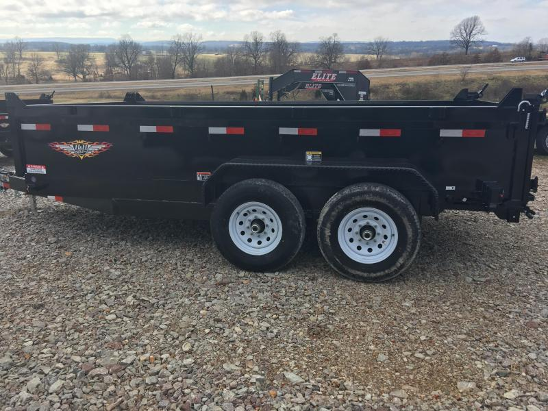 H and H 7 x 12 14K Dump Trailer