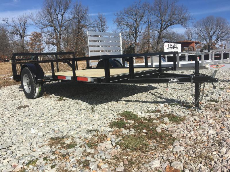 Ozark 76 x 12 Single Axle Utility