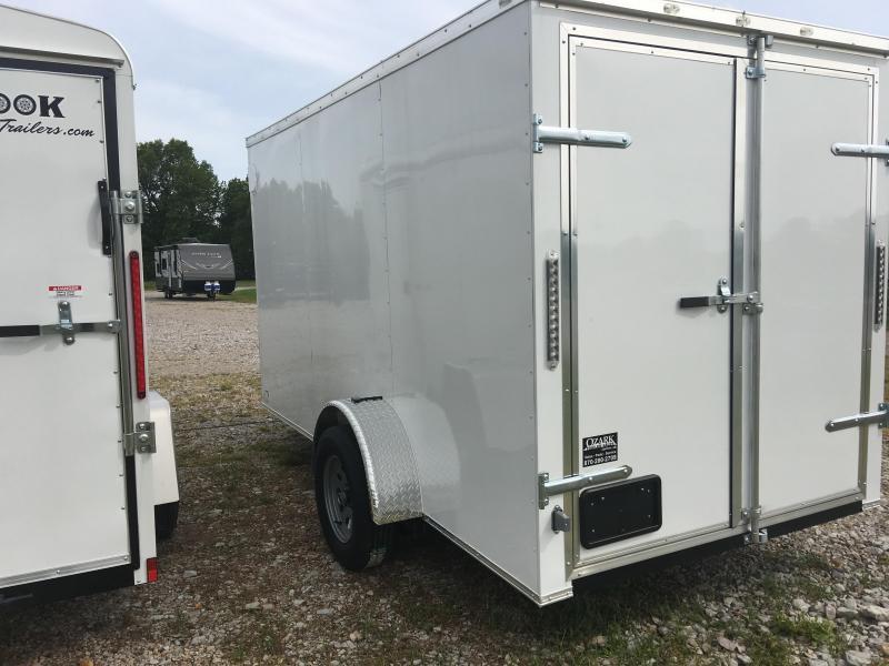 Ozark 7 X 14 Enclosed Cargo Trailer 3.5K
