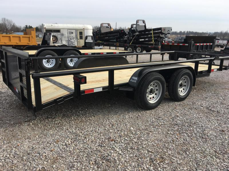 Ozark 82 x 20 14K Preferred Package Utility Trailer