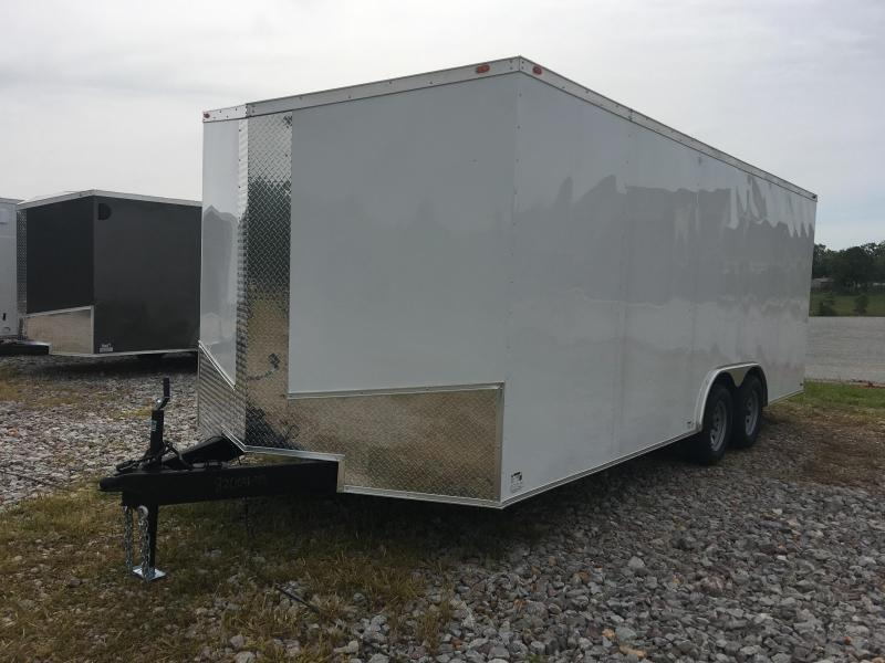 Ozark 8.5 X 24 Enclosed Car Hauler 7K