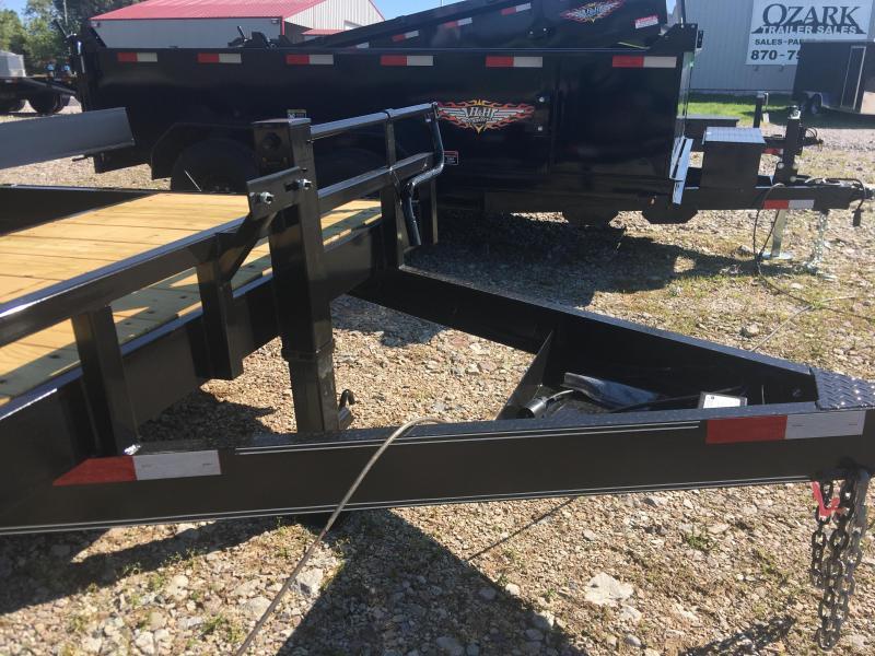 2021 Elite Trailers 82x20 (16' Tilt + 4') Stationary Gravity Tilt Equipment Trailer