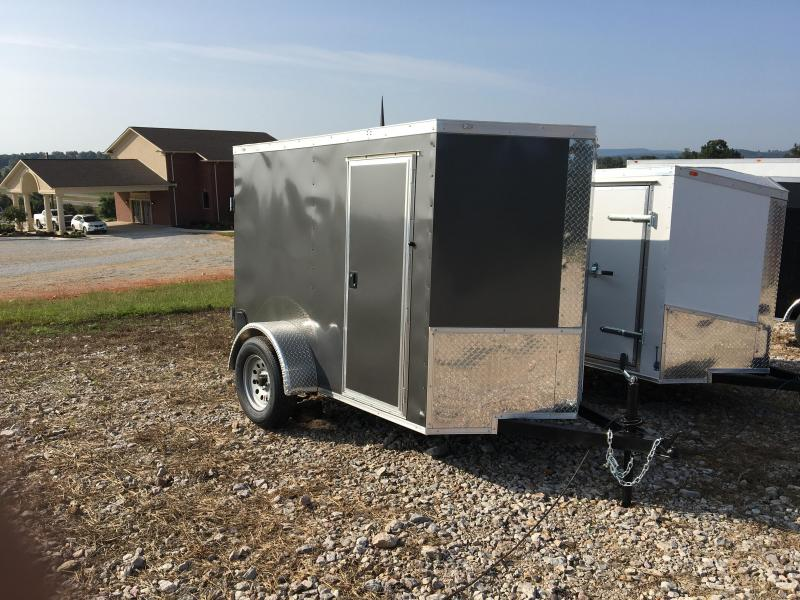 2021 Eagle Cargo 5x8 Eagle Cargo w/ Barn Doors Enclosed Cargo Trailer
