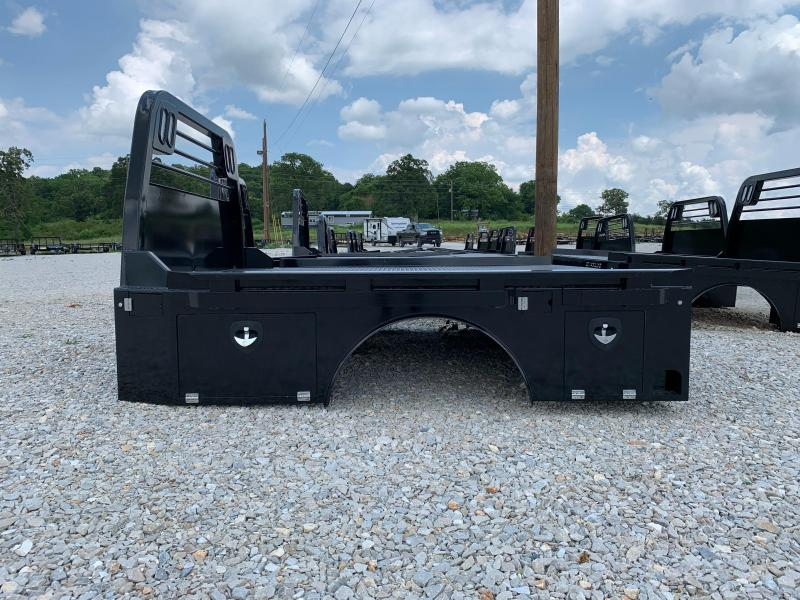 2021 Crownline (Hay Beds) Powdercoated Skirted Trough Flatbed--Dually/GM Truck Bed