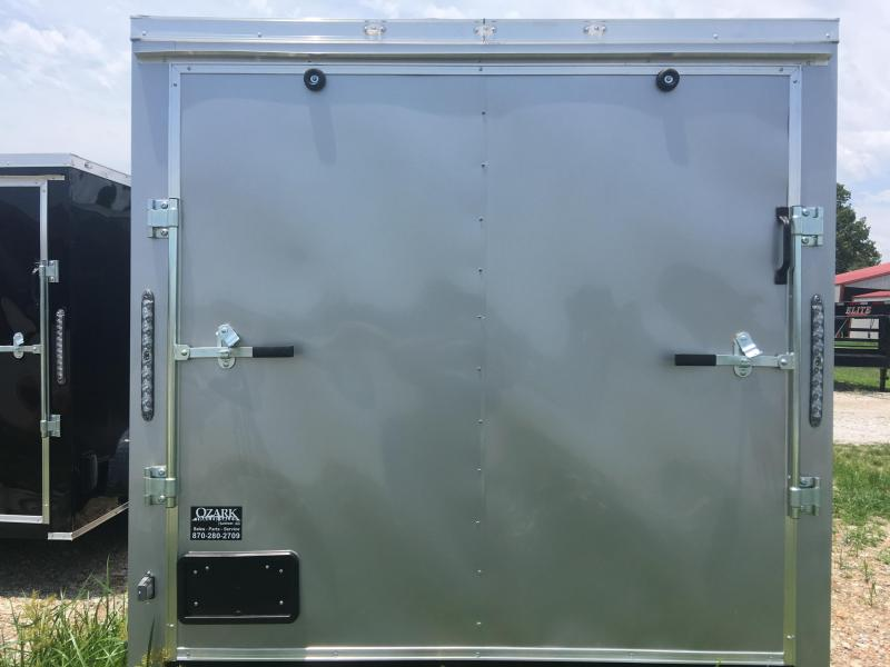 Ozark 7 X 20 Tandem Axle Enclosed Cargo Trailer 7K