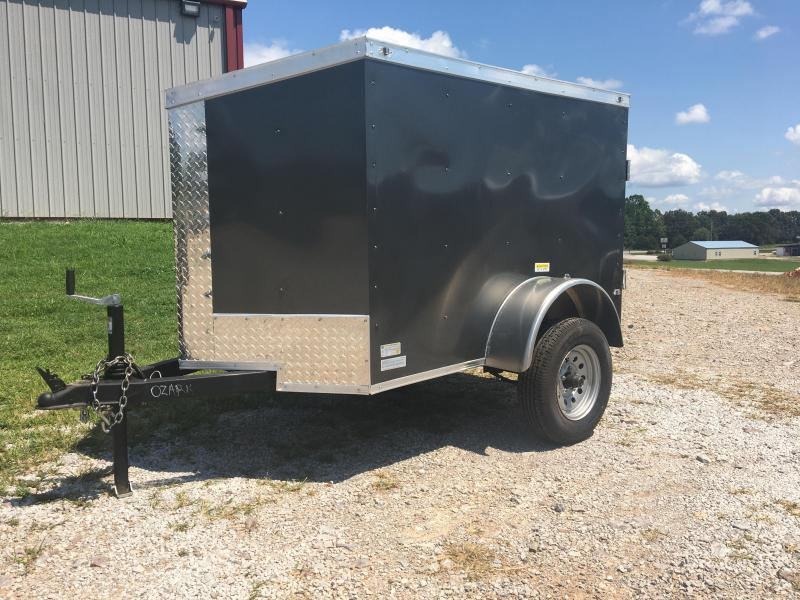 2020 Fast Cargo Charcoal 4x6 Fast Cargo Enclosed Cargo Trailer