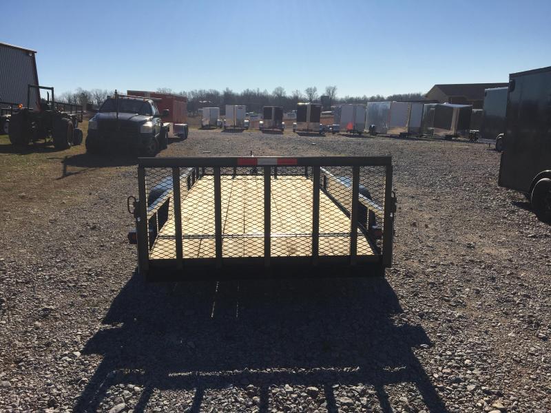 """2021 Ozark 76x16 7k Utility Trailer w/ 34"""" gate"""