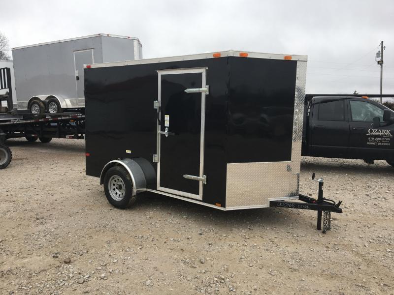 2021 Cynergy Cargo 6x10 Basic w/ Ramp Door Enclosed Trailer