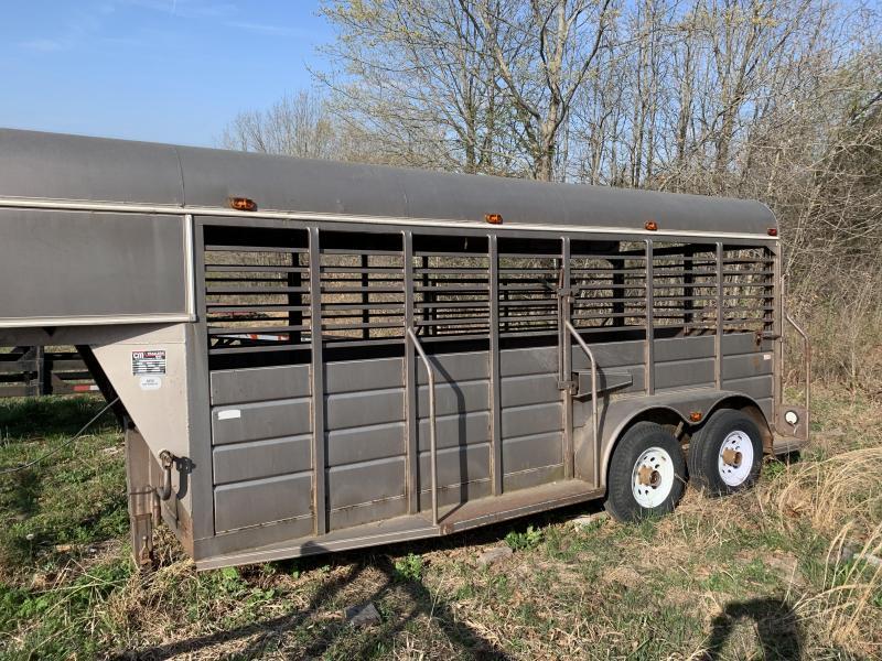 2021 CM Used CM Stock Trailer Livestock Trailer