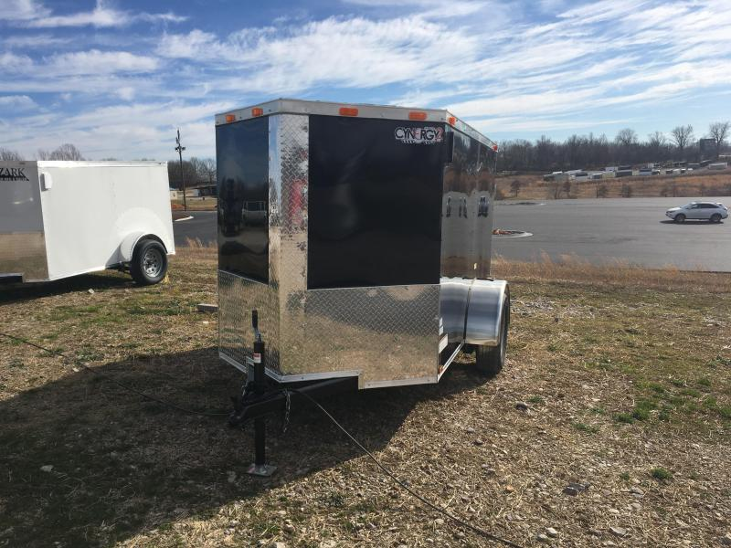 2021 Cynergy Cargo 5x8 Basic w/ Single Swing Barn Door Enclosed Cargo Trailer