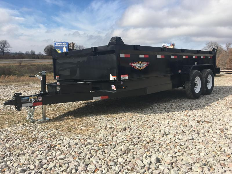 H and H 83 x 16 14K Dump Trailer