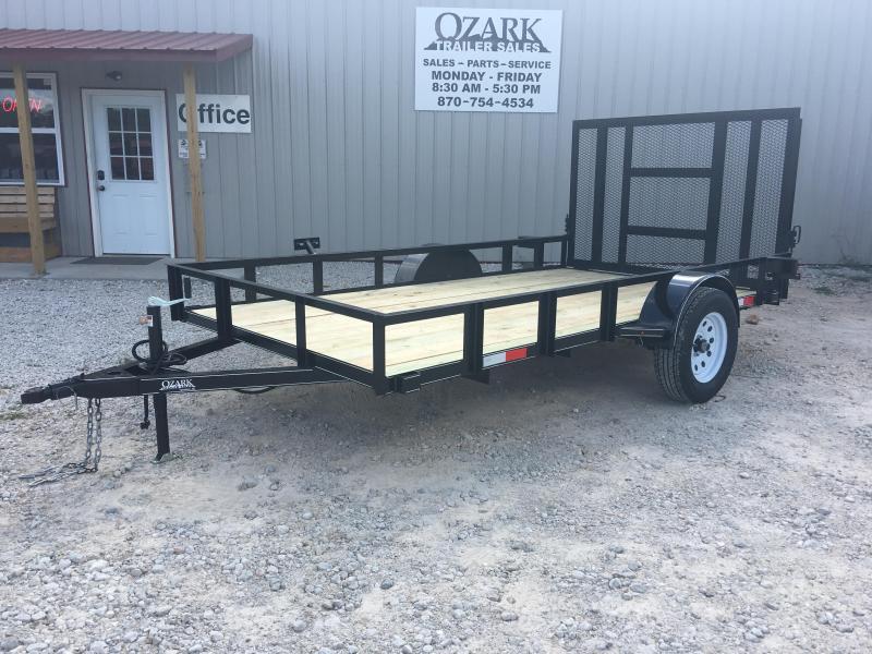 Ozark 76 x 12 Single Axle Preferred Utility