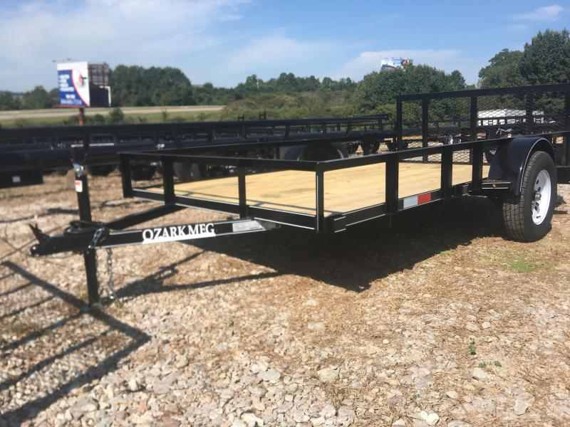 Ozark 76 x 12 Single Axle Preferred Utility