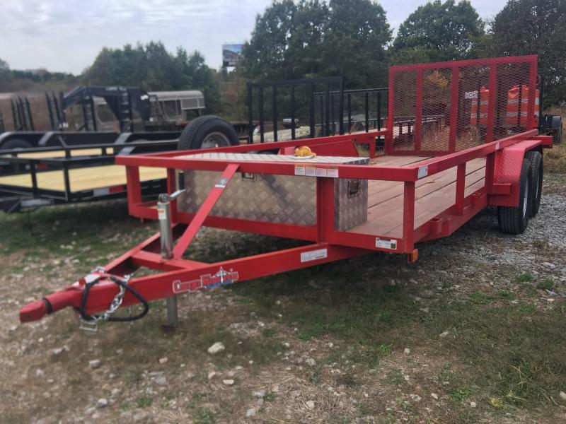 2020 Cargo Mate 76X16 Used Utility Trailer Utility Trailer