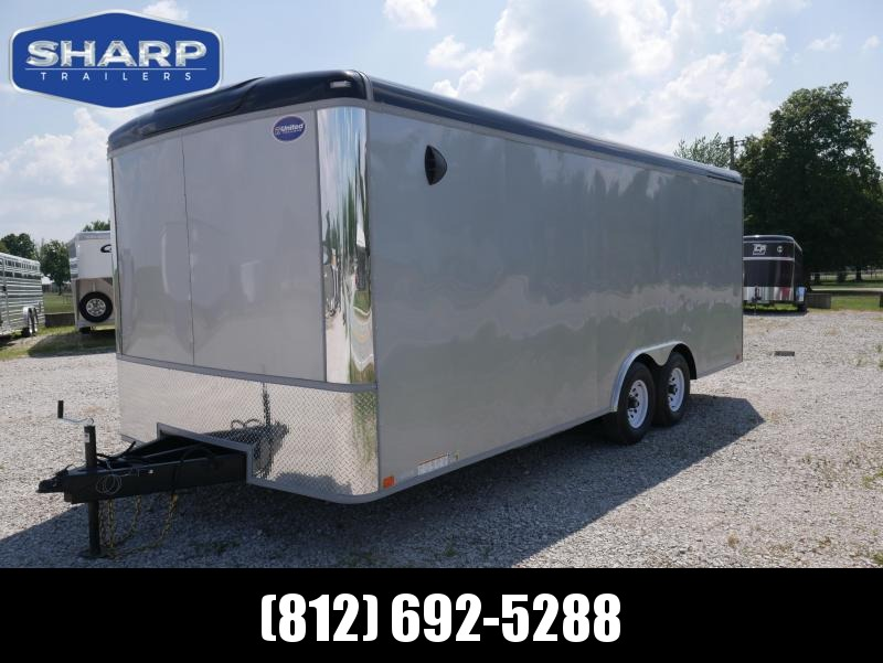 2021 United Trailers ULT 8.5X20 Enclosed Cargo Trailer