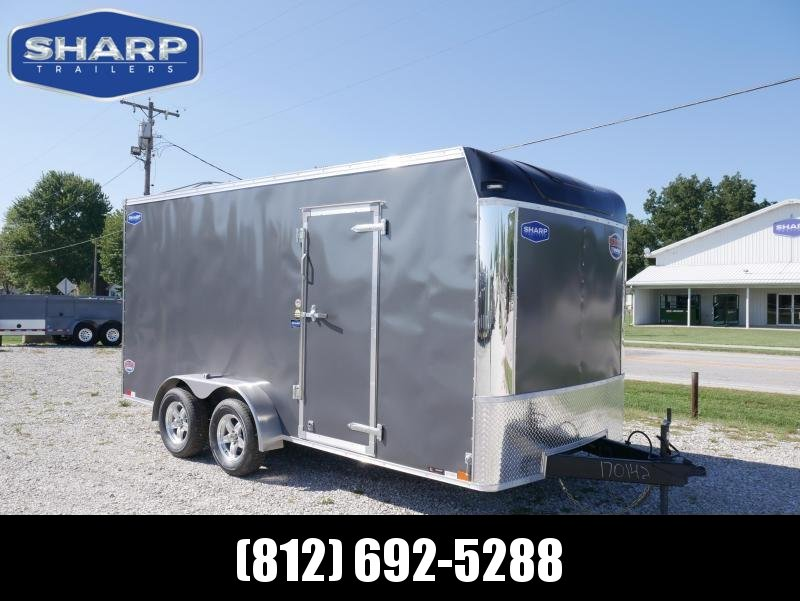 2020 United Trailers UXT 7X16 Enclosed Cargo Trailer