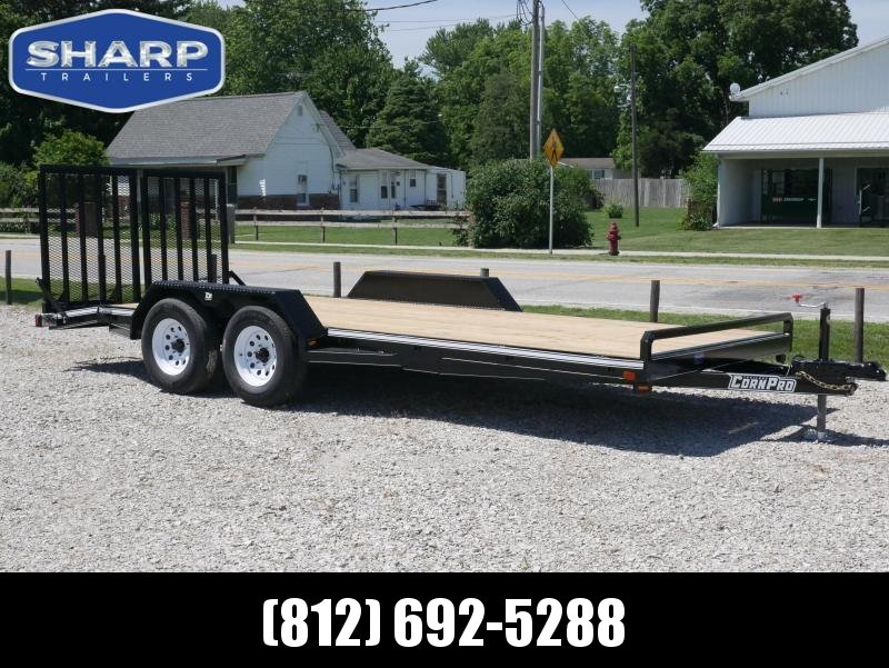 2021 CornPro Trailers UT 20 CS Utility Trailer