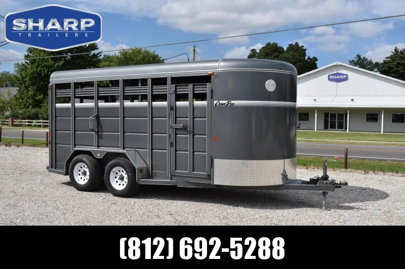 2017 CornPro SB-16 6S Livestock Trailer