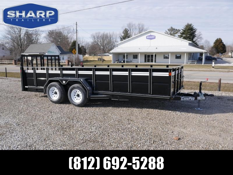 2021 CornPro UT-18 L HIGHSIDE Utility Trailer