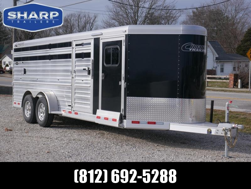 2021 Cimarron Trailers SHOWSTAR 8 PEN Livestock Trailer