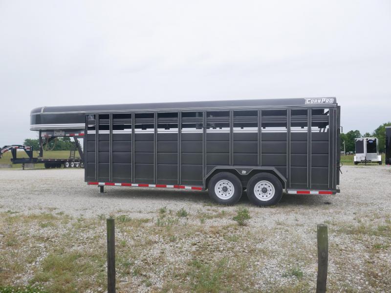 2021 CornPro SG-20 7S Livestock Trailer