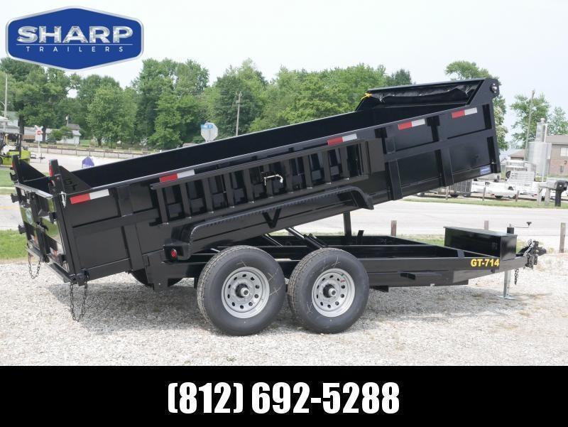 2021 Griffin LMD8314TA70 Dump Trailer
