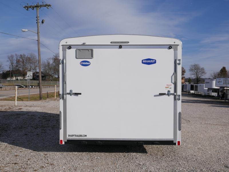 2022 United Trailers ULT 8.5X16TA35 Enclosed Cargo Trailer