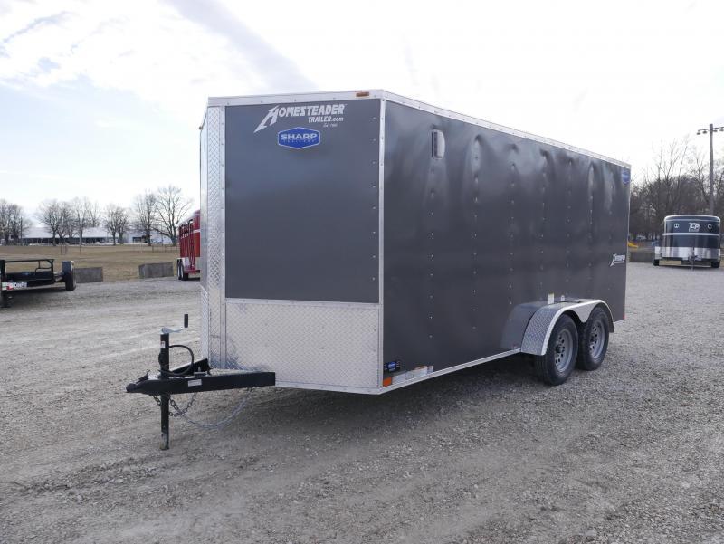 2021 Homesteader 716IT Enclosed Cargo Trailer